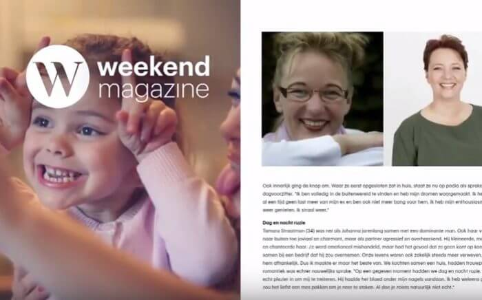 Weekend magazine